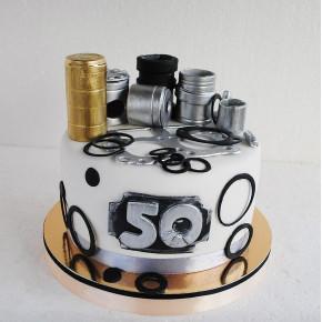 №485 Торт на 50 лет